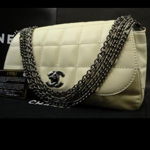 Chanel Four Chain Flap Shoulder Bag